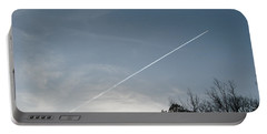Portable Battery Charger featuring the photograph Rocket To The Stars by Michael Krek