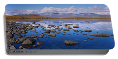 Rocks And Pebbles In A Lake, Torne Portable Battery Charger