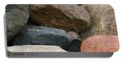 Rocks In Various Colors Portable Battery Charger