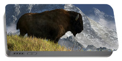 Rocky Mountain Buffalo Portable Battery Charger