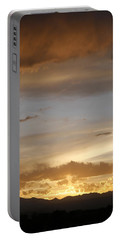 Rocky Mountain Sunset 3 Portable Battery Charger