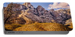 Portable Battery Charger featuring the photograph Rocky Peaks by Mark Myhaver
