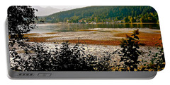 Portable Battery Charger featuring the photograph Rocky Point Port Moody by Sher Nasser
