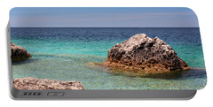 Rocky Shoals Of Tobermory Portable Battery Charger