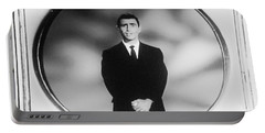Rod Serling On T V Portable Battery Charger
