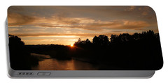 Rogue August Sunset Portable Battery Charger by Mick Anderson