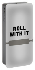 Roll With It Portable Battery Charger