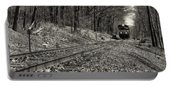 Rolling Down The Tracks Portable Battery Charger