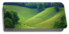 Rolling Hills Of Tennessee Portable Battery Charger