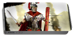 Roman Centurion Portable Battery Charger