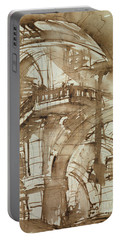 Roman Prison Portable Battery Charger by Giovanni Battista Piranesi