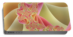 Portable Battery Charger featuring the digital art Romance by Gabiw Art