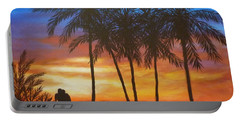 Romance In Paradise Portable Battery Charger