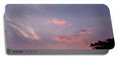 Romantic Sky Portable Battery Charger by Kiran Joshi