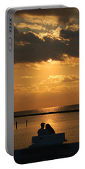 Romantic Sunrise Portable Battery Charger