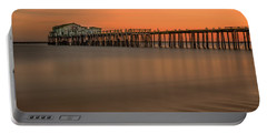 Romeo's Pier Portable Battery Charger by Linda Villers