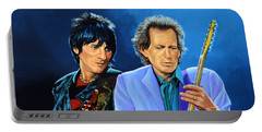 Ron Wood And Keith Richards Portable Battery Charger