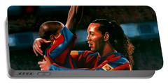 Ronaldinho And Eto'o Portable Battery Charger