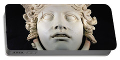 Rondanini Medusa, Copy Of A 5th Century Bc Greek Marble Original, Roman Plaster Portable Battery Charger