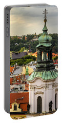 Rooftops Of Prague 1 Portable Battery Charger
