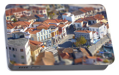 Portable Battery Charger featuring the photograph Rooftops by Vicki Spindler