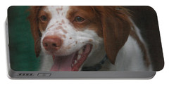 Rooney At The Back Door Portable Battery Charger