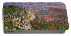 Roosevelt Point Two On North Rim/grand Canyon National Park-arizona   Portable Battery Charger