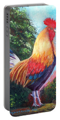 Rooster For Elaine Portable Battery Charger
