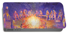 Roots Retreat Campfire Jam Portable Battery Charger