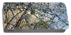 Portable Battery Charger featuring the painting Rosa Canina  by Felicia Tica
