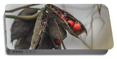 Rosary Pea Portable Battery Charger
