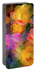 Rose 224 Portable Battery Charger by Pamela Cooper