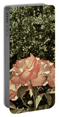 Rose 55 Portable Battery Charger by Pamela Cooper