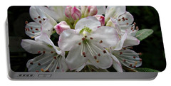 Rose Bay Rhododendron Portable Battery Charger
