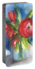 Rose Blooming Portable Battery Charger