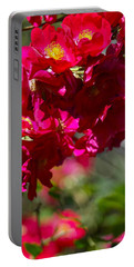Portable Battery Charger featuring the photograph Rose Bouquet by Michele Myers