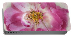 Portable Battery Charger featuring the photograph Rose by Elaine Teague