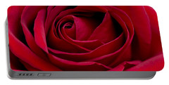 Eye Of The Rose Portable Battery Charger by Nick  Boren