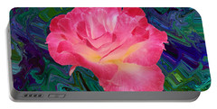Rose In The Matter Of Your Hand V7 Portable Battery Charger