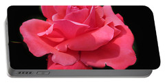 Portable Battery Charger featuring the photograph Rose Is A Rose by Judy Palkimas