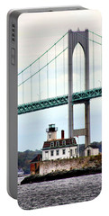 Rose Island Lighthouse Portable Battery Charger