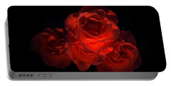 Portable Battery Charger featuring the photograph Rose Three by David Andersen