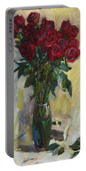 Rose To The Birthday Portable Battery Charger