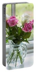 Rose Vase Portable Battery Charger