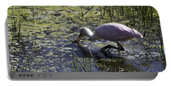 Roseate Spoonbill Ix Portable Battery Charger