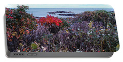 Portable Battery Charger featuring the photograph Rosehip by Mim White