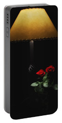 Roses By Lamplight Portable Battery Charger
