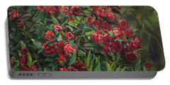 Roses In The Mountains Portable Battery Charger