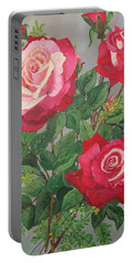 Roses N' Rain Portable Battery Charger