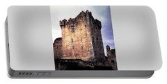 Portable Battery Charger featuring the photograph Ross Castle Kilarney Ireland by Angela Davies